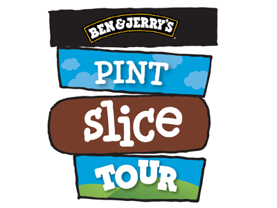 Ben & Jerry's Pint Slice Tour