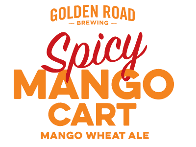 Golden Road Spicy Mango Cart Mango Wheat Ale